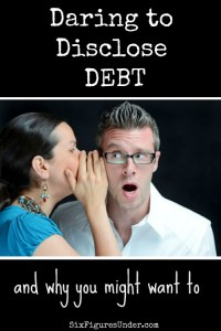Daring to Disclose Debt