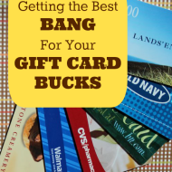5 Tips to Get the Best Bang for your Gift Card Bucks