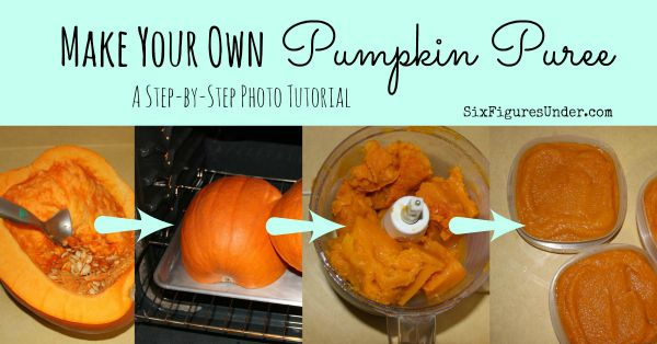 Make your Own Pumpkin Puree Step-by-Step Tutorial
