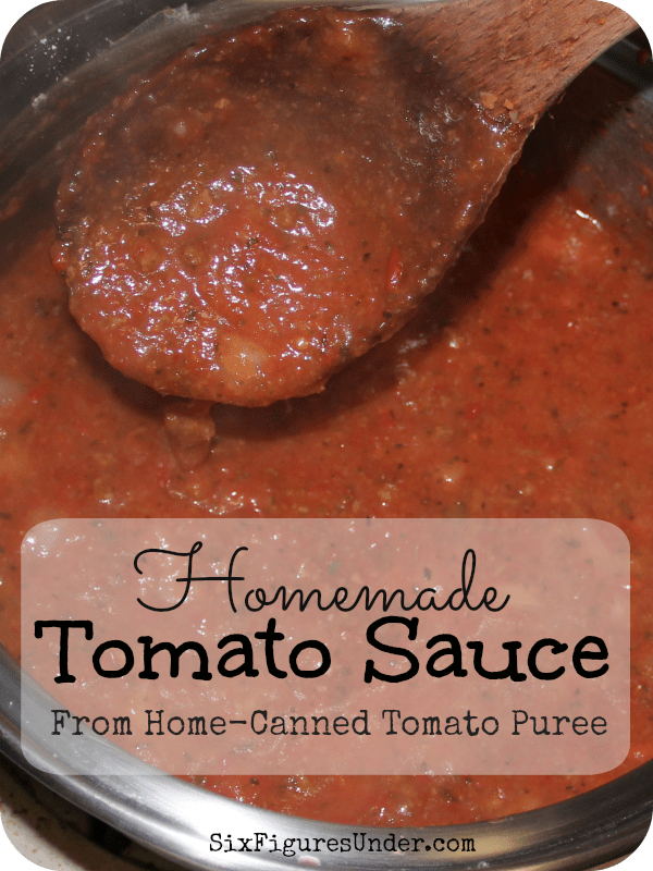 How to make best red pasta sauce with canned tomato puree
