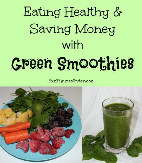 Getting my kids (and myself) to eat veggies was a real chore before we started drinking green smoothies. Here are some of our tricks to saving money and eating healthy with green smoothies!