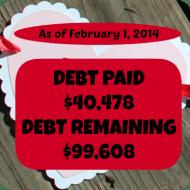 January 2014– Debt Repayment Progress Report