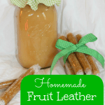 Homemade Fruit Leather Tutorial