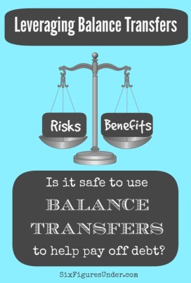 Is it safe to use balance transfers to help pay off debt? The good, the bad, and the ugly of leveraging balance transfers.
