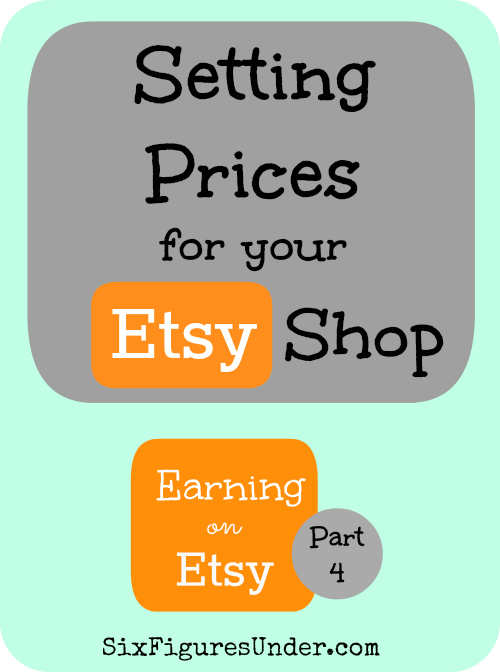 Pricing can be tricky. Despite what anyone tells you, there is no perfect formula to calculate the prices your should charge. Here are a few ways to figure your prices, then you can decide what works best for your situation. Also some great tips on shipping and other pricing concerns.