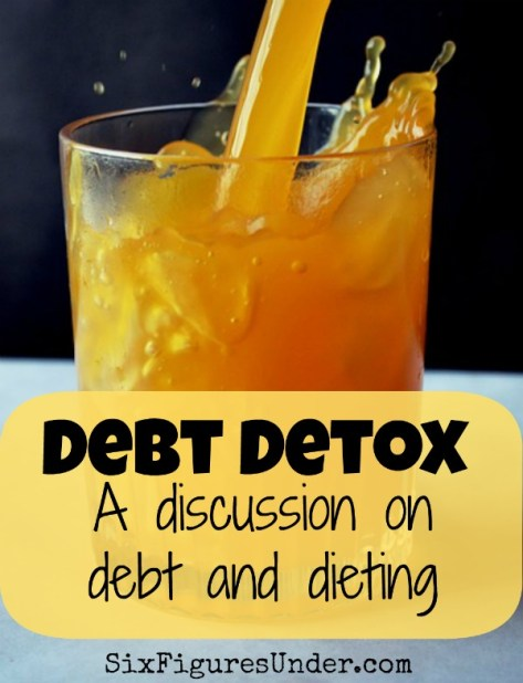 Debt Detox- A discussion on debt and dieting
