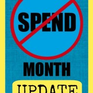 No-Spend Month Update