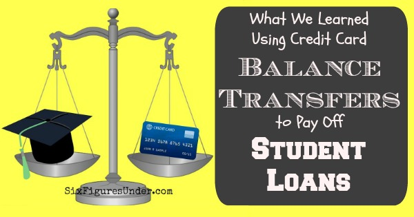 Balance Transfers to Pay Student Loans FB