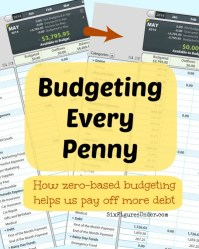 Budgeting Every Penny