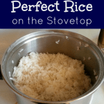 How to Cook Perfect Rice on the Stovetop