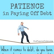 The Fine Line of Patience in Paying Off Debt