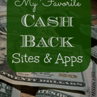 My Favorite Cash Back Sites and Apps
