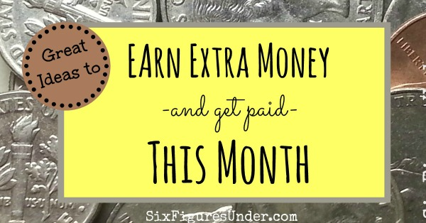 Earn Extra Money This Month fb