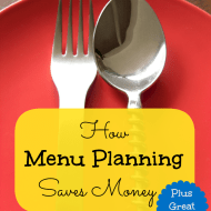 How Menu Planning Saves Money