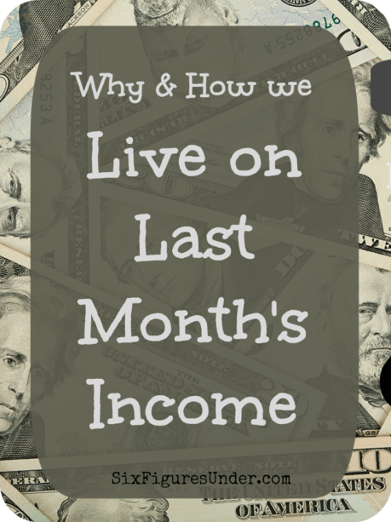 Living on last month's income using YNAB's philosophy, has been the best change we've made in our budgeting. Learn why and how we live on last month's income and how you can (and should) too!