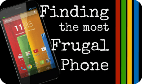 Finding the Most Frugal Phone
