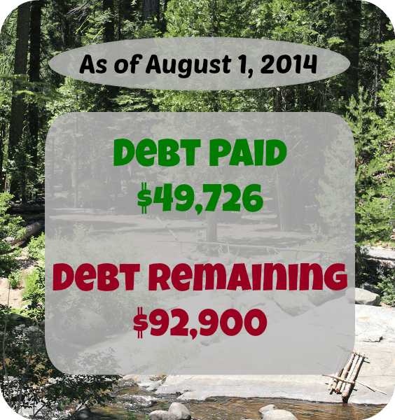 At SixFiguresUnder.com Personal Finance is made Public. Every month we will update you on our debt repayment as well as what we earned and spent. Here's July's report!