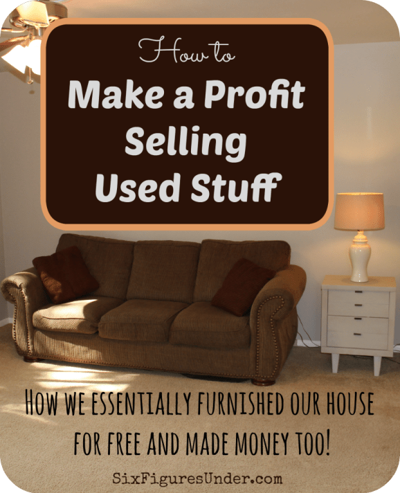 Three keys to making a profit selling used stuff. Also, how to get started making money by buying used and selling for more.
