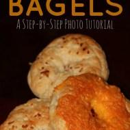 Homemade Bagels Step-by-Step Tutorial