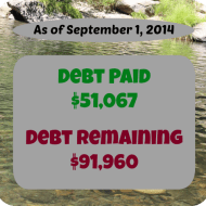 August 2014 Debt Repayment Progress Report