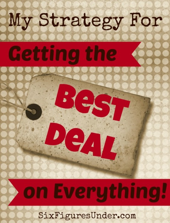 I have a pretty systematic strategy for finding the best deals on everything we buy.  Here are 9 steps to get the best prices on everything in your budget.