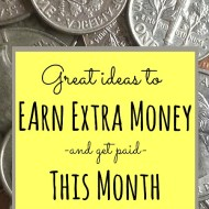 Great Ways to Earn Extra Money This Month