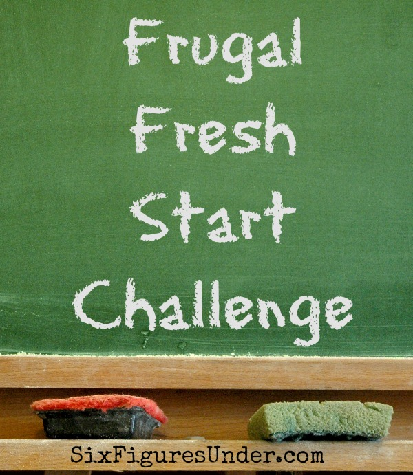 Join me each weekday in January (starting January 5th) for the Frugal Fresh Start Challenge to learn the basics of budgeting, being frugal, and getting your finances in order. Whether you're just getting started or you need to recommit, it's a perfect time to revamp your finances and make strides toward your goals.
