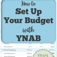 Setting Up Your Budget Using the YNAB Methodology