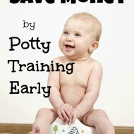 Save Money by Potty Training Early