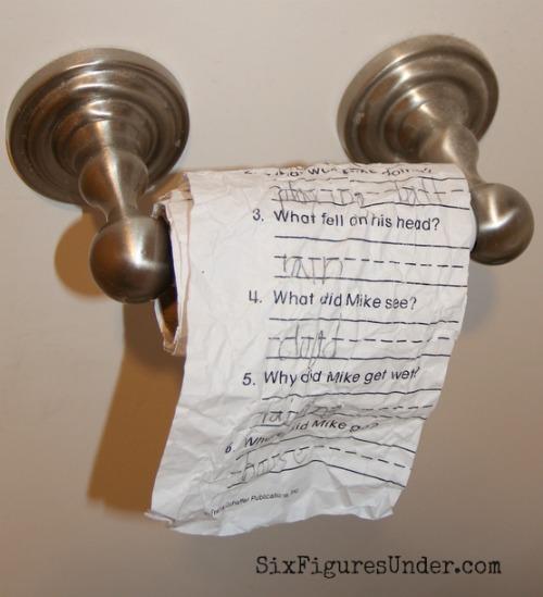 Homemade Toilet Paper