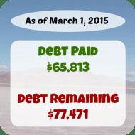 February 2015 Debt Repayment Progress Report