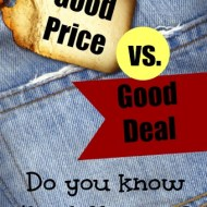 Good Price vs. Good Deal