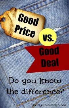 Good Price v Good Deal
