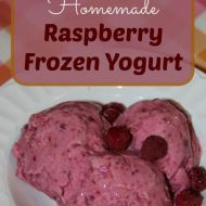 Raspberry Frozen Yogurt– An Easy and Delicious Summer Treat