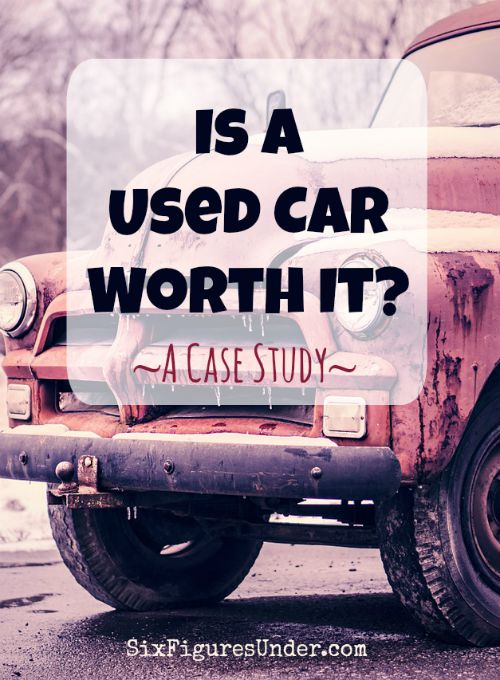 Does a used car save money? Or is a used car a money suck? Now that we are retiring our van, I thought it would be fun to make it as a case study and see how the costs stack up.