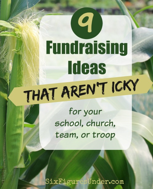 Looking for a fundraiser idea for your school, church, team or troop that doesn't turn your child into a door-to-door salesperson? Here are 9 awesome fundraiser ideas that aren't icky!