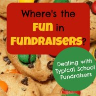 Where's the Fun in Fundraisers?– Dealing with Typical School Fundraisers