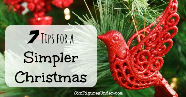 7 Tips for a Simple Christmas