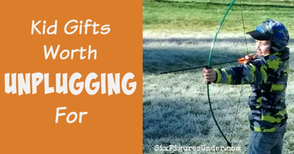 Are your kids getting too much screen time? Here are some kid gifts worth unplugging for!