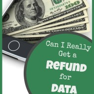 Can You Really Get Refunded for Cell Data You Don't Use?