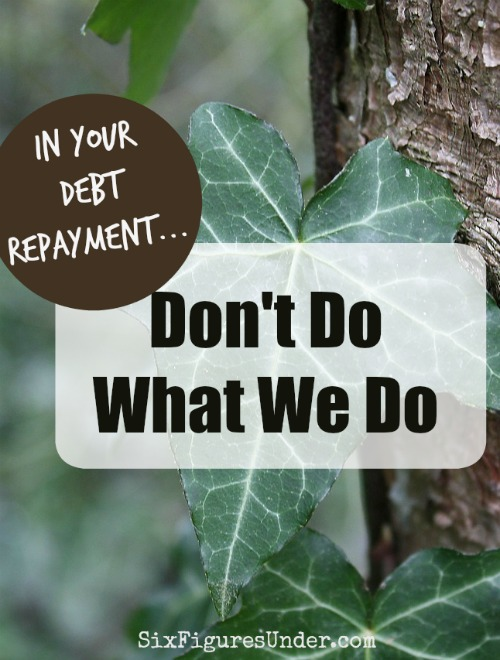 If our monthly debt repayment progress reports have left youfeeling discouraged or frustrated, then this post is for you.