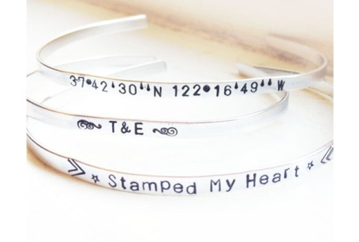 Personalized Bangles for just $5 (or even free with my code)