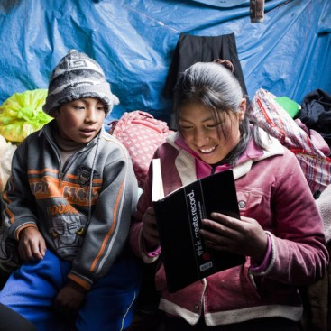Provide a gift of lasting change by supplying a set of library books for a refugee camp