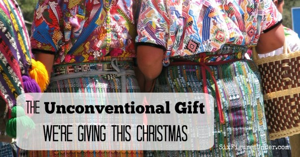 The Unconventional Gift We're Giving This Christmas.