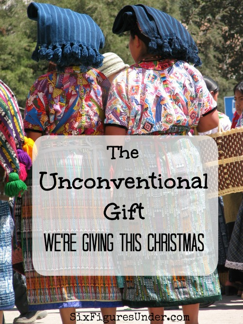This year our family is giving an unconventional. It's heartfelt and useful. It's perfect anyone!