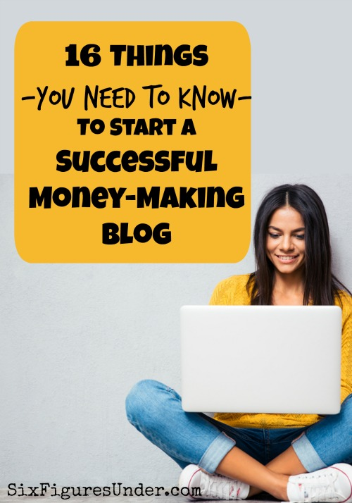You definitely can earn an income with a blog on virtually any topic, but it's definitely not a quick buck. Here are 16 things you need to know to start a successful and profitable blog. Are you ready to start a money-making blog?