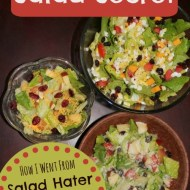 Salad Mix-ins– My secret to loving salad