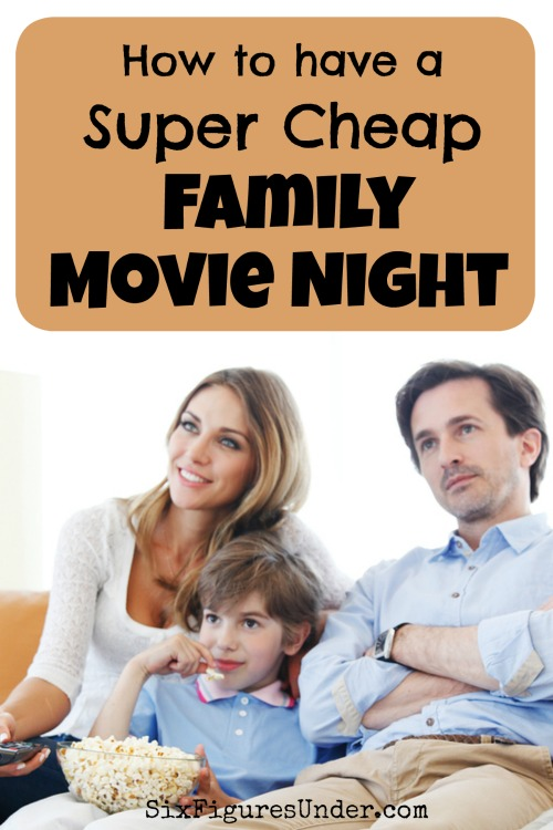 Having a movie night at home, rather than going out to a movie, is going to save you big!  From the movie itself all the way down to the snacks, you can have a family movie night without spending much.  Here's how we do it!