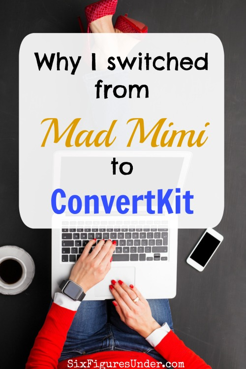 Choosing an email marketing service is hard. Even though I loved Mad Mimi, I made the switch to ConvertKit. Here's why I went from Mad Mimi to ConvertKit.