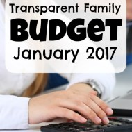 Family Budget Update– January 2017